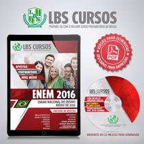 Apostila Em Pdf Enem 2016 Volume Completo Frete Grátis