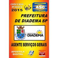 Apostila Prefeitura Diadema Agente Servicos Gerais 2015