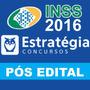 Curso Inss 2016 Estratégia Pós Edital (video-aulas E Pdfs)