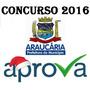 Prefeitura Araucária/pr Auxiliar Administrativo 2016 Aprova