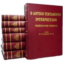 Coleção Comentário Champlin Nt, At, Dicionário E Enciclopédi