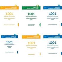 Coleção 1001 Questões Comentadas De Direito (esaf Fcc Cesp)
