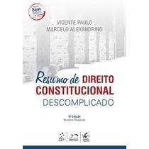 Direito Constitucional Descomplicado - 14ª Ed. 2015