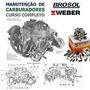 Curso Conserto De Carburador + Frete Gratuito