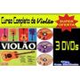 Curso Videoaula Aprenda Fácil Violão (3 Dvds)