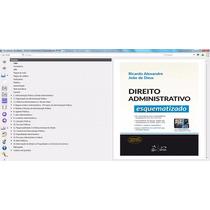 Epub Direito Administrativo Esquematizado Ricardo Alexandre