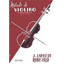 Método De Violino - J. Lambert Ribeiro ( Em Português )