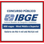 Material De Estudo Concurso Ibge 2016 Técnico Pós Edital