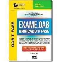 Exame Da Oab Unificado - 1ª Fase - 5ª Ed.- Pdf