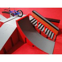 Novo Kit Pista Sbego Park Skate Dedo + Bike Acessorios Peças