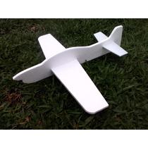 Kit Avião Pipa Isopor 8 Unid. Por 20,00