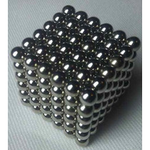Neocube Preto 216 Imãs Cubo Magnetico 5mm + Lata