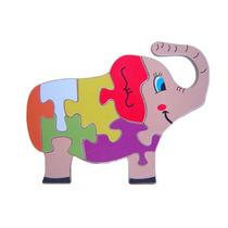 Quebra Cabeça Divertido Elefante