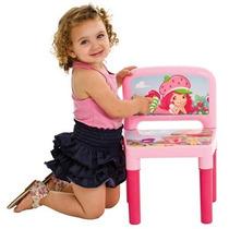 Cadeira Cadeirinha Infantil Moranguinho Multibrink