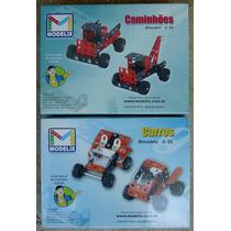 Combo Carros Bimodelo 2-02 + Caminhões Bimodelo 2-0 Modelix