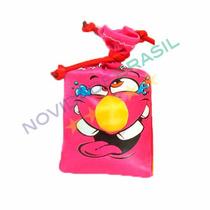 Saco De Risadas Rosa Brinquedo Pegadinha Engraçado