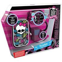 Microfone Viva Voz Horripilante Monster High Intek