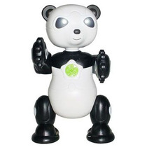 Robô By Bots Panda Bambu Se Mexe E Acende Luzes