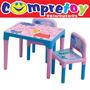 Mesa E Cadeira Peppa Pig Infantil - Multibrink