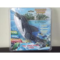 Robo Fish Golfinho Mundo Submarino - Novidade