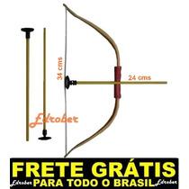 Arco Flecha Atirador Alvo Arma Pressão Brinquedo Frete Gráti