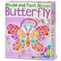 Borboleta Mosaico, Molde E Pinte, Brinquedo Criativo