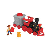 Imaginext Filme Toy Story 3 Trem Do Velho Oeste