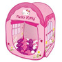 Toca House Hello Kitty C/ Bolinhas Barraca Infantil Braskit