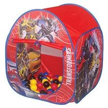 Toca House Transformers C/ Bolinhas Barraca Infantil Braskit