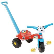 Triciclo Infantil Tico Tico Totó Haste Removível Magic Toys