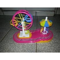 Parquinho Infantil Roda Gigante E Carrossel Usa