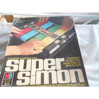 Jogo Antigo Pré Genius Super Simon No Estado Ideal Para Fãs