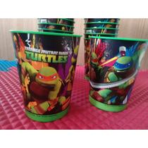 Copo Plastico Festa Tartarugas Ninja Pra Brinde/lembrancinha