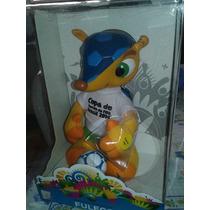 Fuleco Original Com Mecanismo Mascote Da Copa Do Mundo 2014