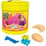 Brinquedo Infantil Sands Alive Balde Formas Padaria Yellow