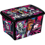 Caixa Organizadora Decora Monster High 18 Litros Plasútil