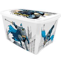 Caixa Organizadora Infantil Batman 18 Litros Plasútil