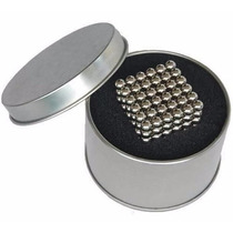 Neocube Prata 216 Imãs Cubo Magnético 5mm Lata