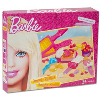 Massinha Barbie Sorveteria Divertida Fun
