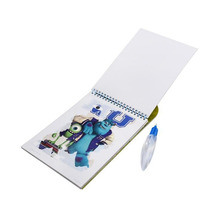 Aqua Book Monstros S.a Caderno Para Colorir Com Caneta Dágua