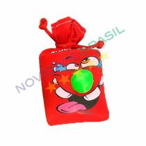 Saco De Risadas Vermelho Brinquedo Pegadinha Engraçado