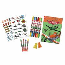 Kit Criativo 15 Peças Aviões Disney Original Tris