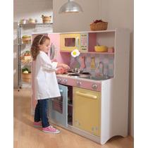 Cozinha Kidkraft Grande Rosa Cod.53181