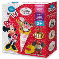 Kit Massinha De Modelar Waffle Minnie Disney Original Toyng