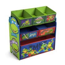 Organizador De Brinquedos Tartarugas Ninja Nick