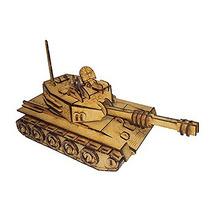 Brinquedo De Montar - Quebra-cabeça 3d - Tanque