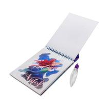 Aqua Book Ariel Caderno Para Colorir Com Caneta De Água!