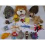 Lote Brinquedos Bonecos Pelúcia Miniaturas