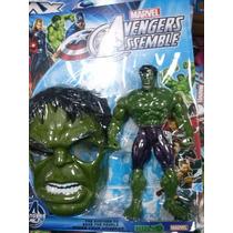 Boneco Do Hulk,homem Aranha,tartaruga Ninja Com Som E Luz