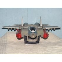 Imperdível Avião Dos Transformes Que Se Transforma Em Arma.
